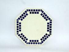 Originale Stile Liberty Servire Vassoio Ceramica Bordo Metallico Hornberg Altri Complementi D'arredo