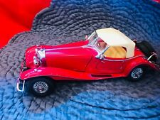 New ListingFranklin Mint 1:24 1935 Mercedes 500 K Special Roadster w Coa In Box