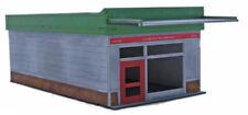 Rétro Americana Retail unit 28 mm Petit Laser Cut MDF Building Q001