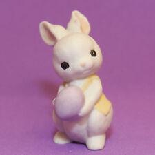 Hallmark Merry Miniatures Easter 1985 Bunny W/ Purple Egg Epr3701