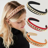 Fashion Chain Ring Hairband Non-slip Hairband Headbands Women Hair Accessories