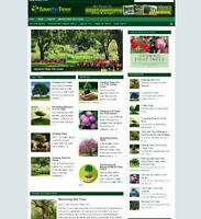 SAVE THE TREES WEBSITE UK AFFILIATE STORE FULLY STOCKED + FREE DOMAIN