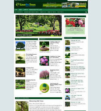 SAVE THE TREES WEBSITE BLOG WITH UK AFFILIATE STORE + BANNERS & NEW DOMAIN