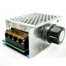 4000W 10-220V AC SCR Voltage Regulator Motor Speed Control Controller with Shell