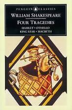 William Shakespeare: Four Tragedies: Hamlet, Othello, King Lear, and Macbeth (Pe