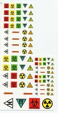 Battletech miniatures Clan and IS Insignia decals- Warning Signs