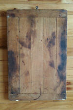 Antique Wooden Cutting Dough Noodle Pastry Board Patina Country Primitive AAFA