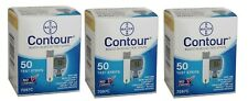 150 Contour Test Strips 3 Boxes of 50 ct Exp 12/2021-Freaky Fast Shipping!!!