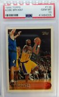 1996 96 TOPPS Kobe Bryant ROOKIE RC #138, Graded PSA 10 Gem Mint, Lakers