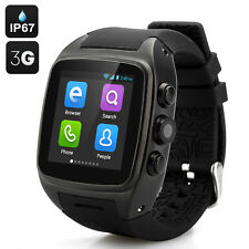 Android5.1 3G Fashionable Round Screen Waterproof Smart Bluetooth Wrist Watch M7