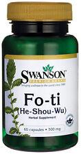 Fo-Ti 500 mg x 60 Capsules Swanson Premium