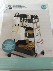 We R A La Cart Accessory Kit Memory Keepers NIB Hanging cups Cart pocket 6 Hooks