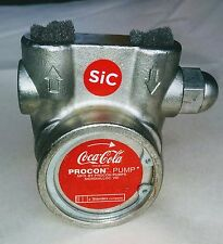 """Coca Cola PROCON Series 3 3/8"""" Steel Pump CB1604X 103B100F31BA 100GPH 170PSI"""