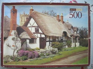"""VINTAGE HESTAIR CLASSIC """"WELFORD-ON-AVON"""" 500 PIECE JIGSAW PUZZLE."""