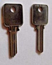 Medeco Key Blank # A1638 - Biaxial G 3- 6 Pin - 2 Blanks per Order