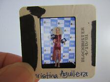 More details for original press photo slide negative - christina aguilera - 2001 - ab