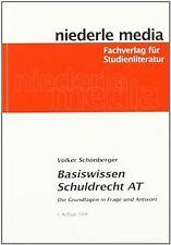 Basiswissen Schuldrecht AT: Die Grundlagen in Frage und ... | Buch | Zustand gut