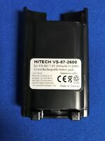 Hitech battery(Japan LI2.6A)For YAESU/VERTEX S.#FNB-V87Li VX-820/821/824/929...