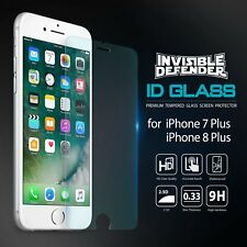 For iPhone 8 Plus / 7 Plus Tempered Glass Clear Screen Protector [2pcs] -LUCK