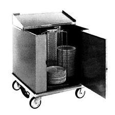 Carter-Hoffmann Cd252H Heated Dish Storage Cart w/ Dish Dividers & Rotary Design