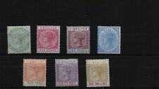 Gibraltar SG39/45, Sterling 1898 réédition Mounted Comme neuf SET, Cat £ 180