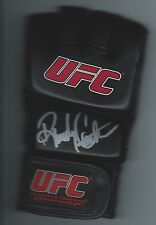 RANDY COUTURE Signed UFC Training Glove