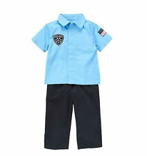 Gymboree TINY POLICE OFFICER CADET Cop Costume Toddler Boys 18 - 24 mos. NEW!