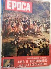 EPOCA 12 luglio 1959 Lecce Alberto del Belgio Vittoria di Solferino Risorgimento