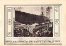 1915 Hindenburg Cruiser Vistula Varsovia puentes