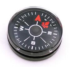 Wholesale lot 12pcs 20mm Compasses Black Dial Small Mini Survival Compass