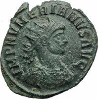 NUMERIAN w globe & scepter 283AD Rome Genuine Ancient Roman Coin Rare i76066