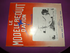 14µ?  Revue MRA n°413 plan encarté Spirit Of St Louis Lindbergh /