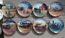 Farming In The Heartland By Emmett Kaye Complete Series Of 8 Plates Danbury Mint