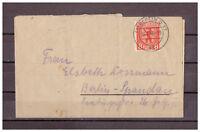 Berlin und Brandenburg, Faltbrief MiNr. 3 TSt Berlin 14.01.1946