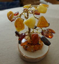 multicolor   Baltic Amber  tree  in box #1
