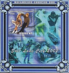 Mozambique block92 unmounted mint / never hinged 2001 Olympics Winter Games 2002