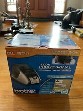 Brother Ql 570 Label Thermal Printer New In Opened Box