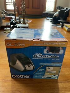 Brother QL-570 Label Thermal Printer NEW IN OPENED BOX