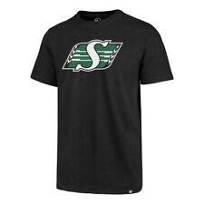 Men's Saskatchewan Roughriders Imprint Primary Big Logo CFL Football T Shirt '47