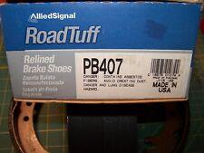 ROADTUFF PB407 ORGANIC Relined Drum Brake Shoe fits 1971 - 1987 Toyota Corolla