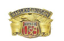 Harley Vintage 1980 Solid Brass Baron Belt Buckle