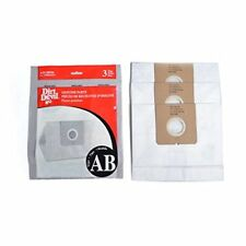 3 Dirt Devil AD10096 Type AB Canister Vacuum Paper Bags Genuine