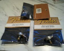 3 pieces Fender guitar 250k split shaft guitar pot #0990830000