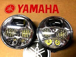 95-05 YAMAHA WOLVERINE 350 BRUIN LED HEADLIGHTS CONVERSION KIT- PAIR! USA-4X4