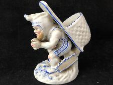 Pyrogène Lutin XIX ème Porcelaine Antique French Allumettes Objets Fumeur