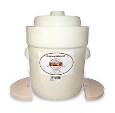 Pot à choucroute en grès pour la lactofermentation 5 litres