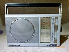 Grundig Music Boy 60 3 Waveband Portable Radio