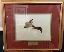 "Original Max Fleischer ""Gulliver's Travels"" Lilliputian animation cel framed A"
