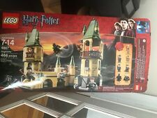 LEGO Harry Potter Hogwarts (4867) USED with Box and instructions not complete