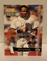 1993 Upper Deck Barry Bonds Future Heroes #56 San Francisco Giants NMT-MNT